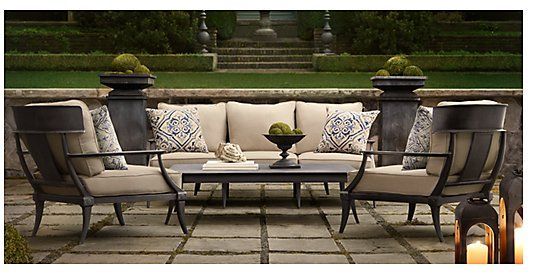 Klismos Outdoor Table | ... Hardware Klismos Img 500x257 Restoration  Hardware Klismos Collection
