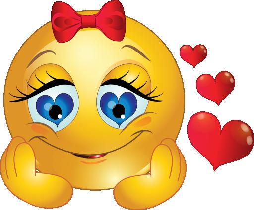 """Résultat de recherche d'images pour """"amoureuse emoticone"""""""