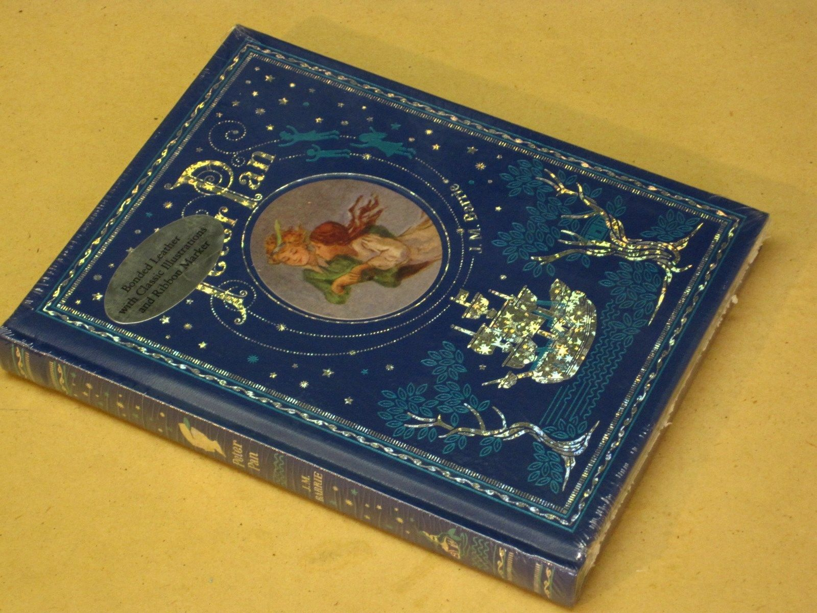 peter pan by j m barrie illustrated by f d bedford peter pan by j m barrie illustrated by f d bedford leatherbound brand new in books antiquarian collectible