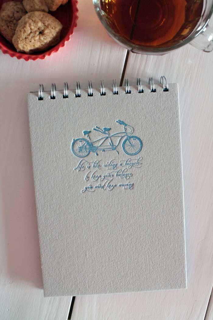 Sommelier de Cuadernos: Mil Letterpress: Alma Singer