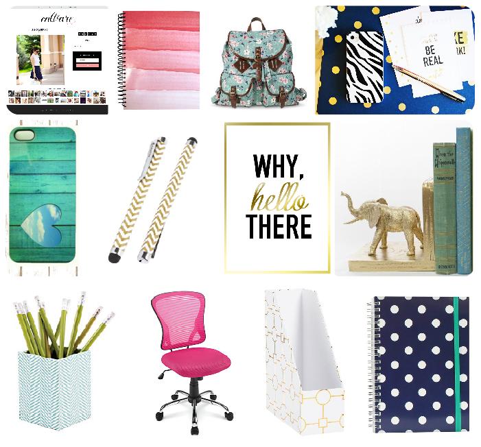 Modern Office Supplies Roundup By Smitten Blog Designs Free Worke Printables