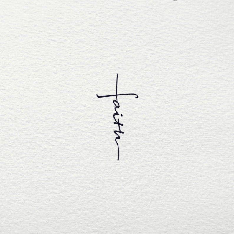 Faith Cross SVG - Cross SVG Faith Jesus Crucifix B