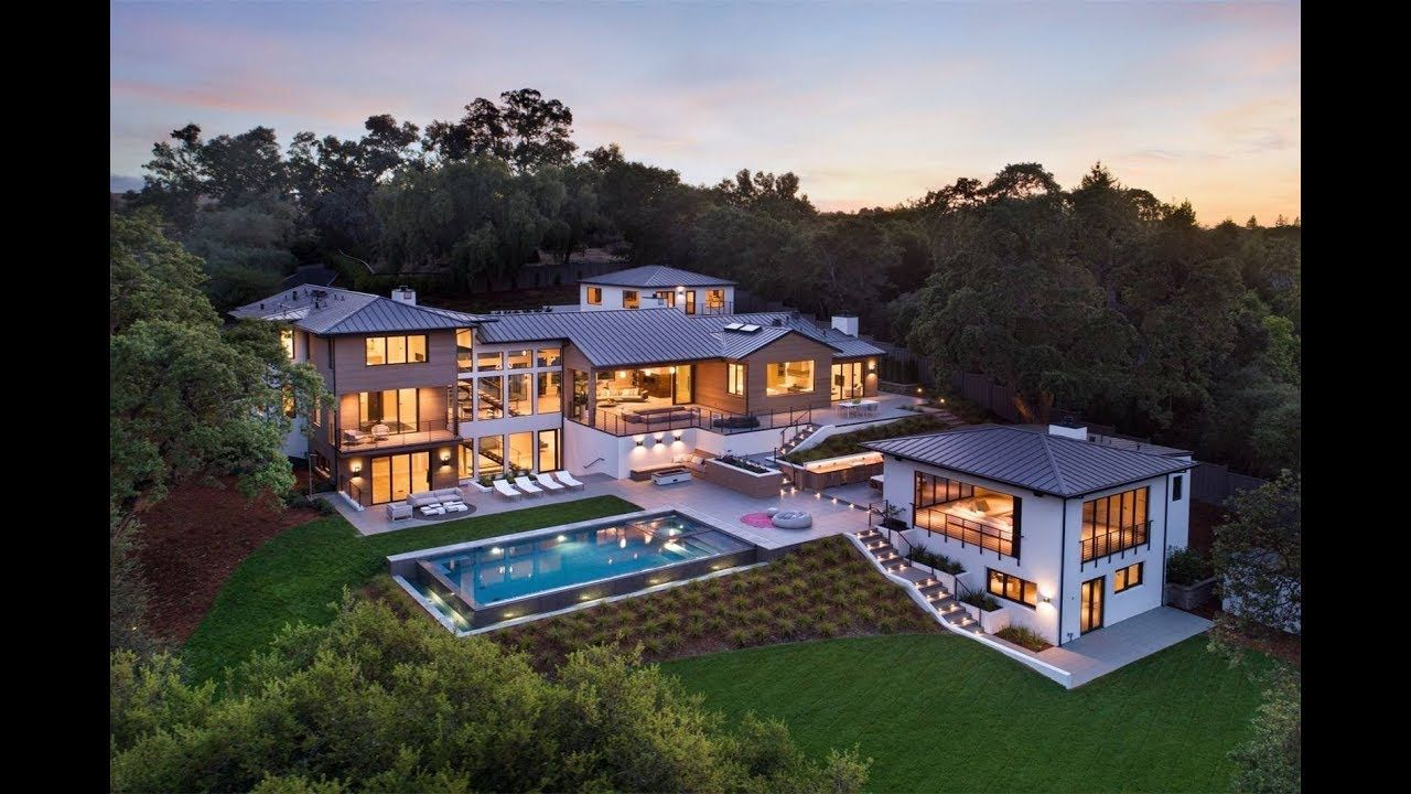 Sophisticated Secure Mansion In Palo Alto California Sotheby S International Realty Wysluxury Luxury Homes Dream Houses Dream House Exterior Mansions