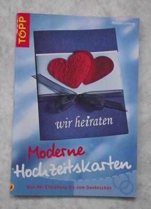 Kaufe meinen Artikel bei #Mamikreisel http://www.mamikreisel.de/fur-die-mami/literatur-fur-werdende-eltern/27513560-vorlagenbuch-moderne-hochzeitskarten-sehr-gut-erhalten