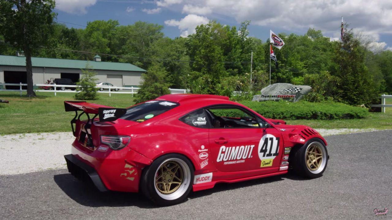 Ryan Tuerck Toyota Gt86 With A Ferrari F136 V8 Toyota Gt86 Custom Cars Subaru Brz