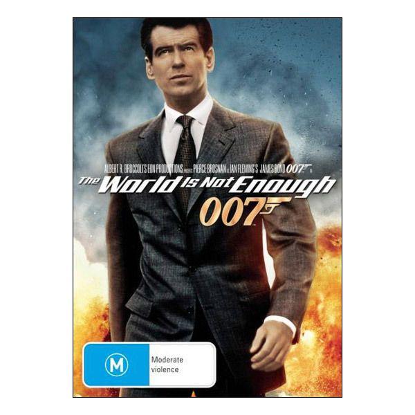The World Is Not Enough Dvd Brand New Region 4 Aust Pierce
