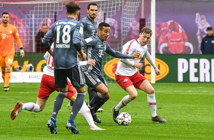 Champions Bayern Munich Stumbled To A Goalless Draw At Rb Leipzig