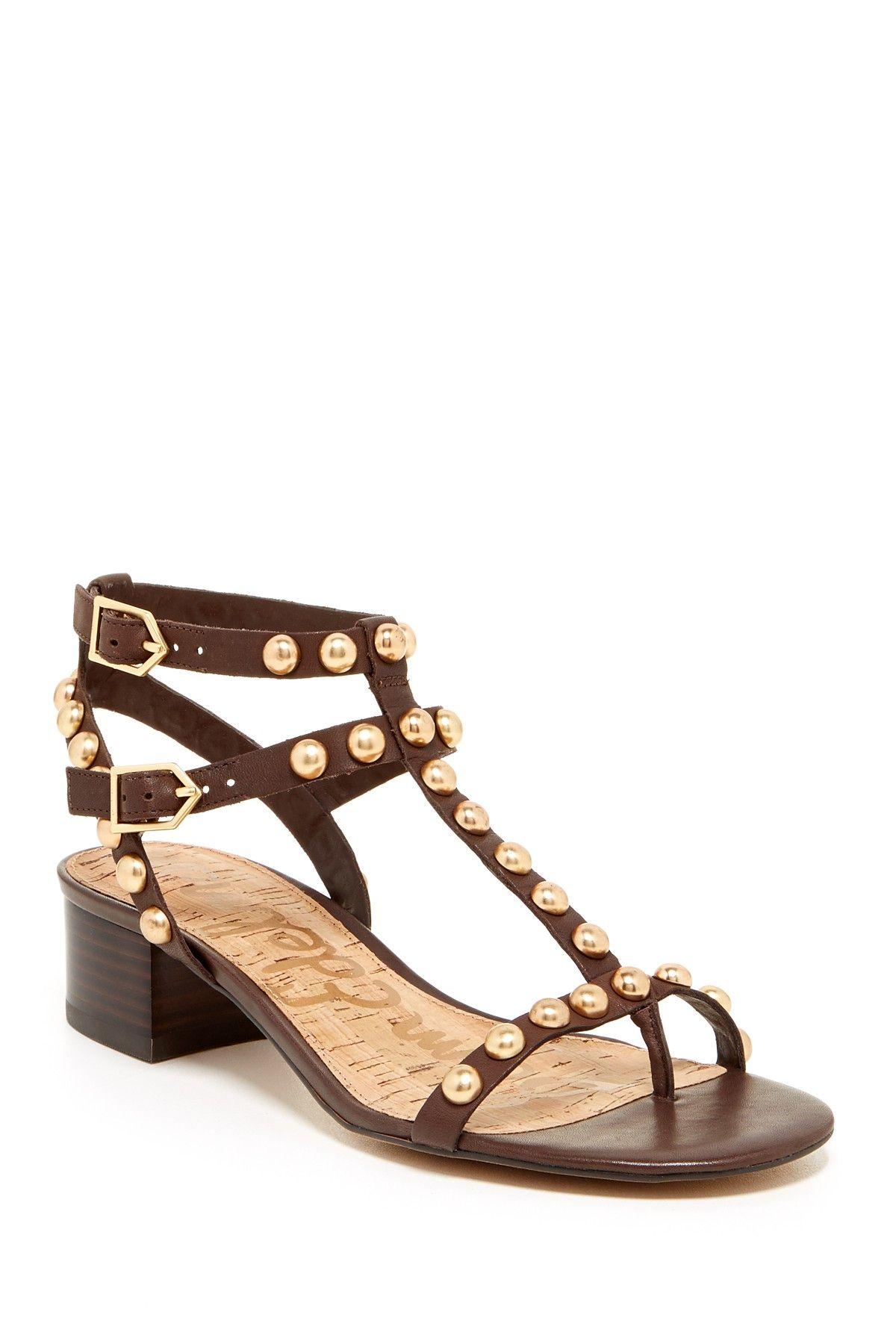d33b37bea32a Asbury Studded Block Heel Sandal by Sam Edelman on  nordstrom rack