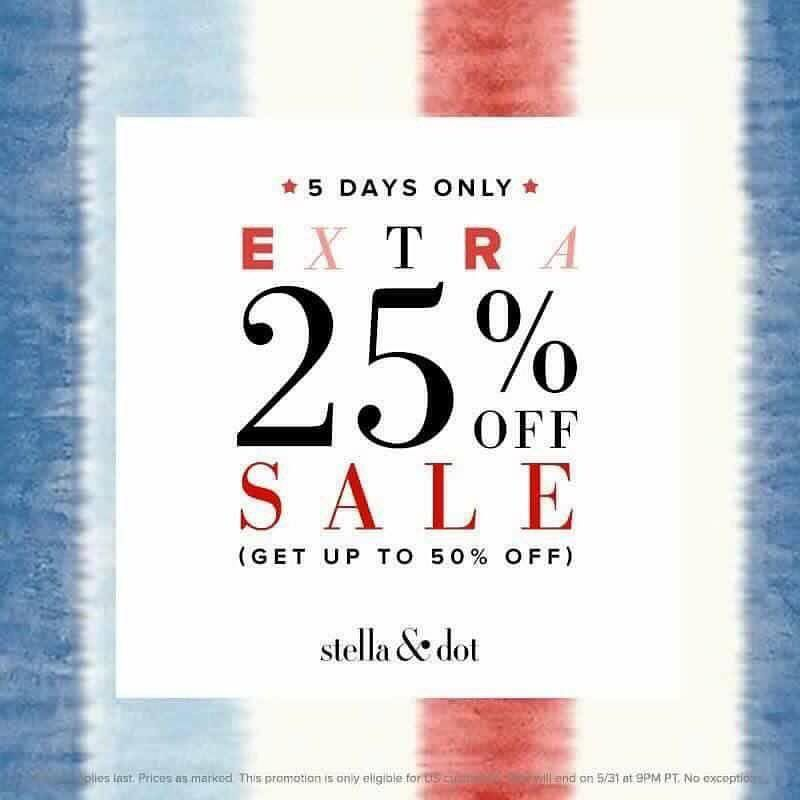 Shop now...Sale + Dot Dollars...Oh Happy Day! www.stelladotstyle.com
