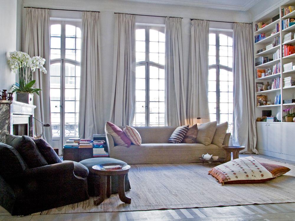 Wohntraum in Antwerpen  krishnapalast  wohnzimmer