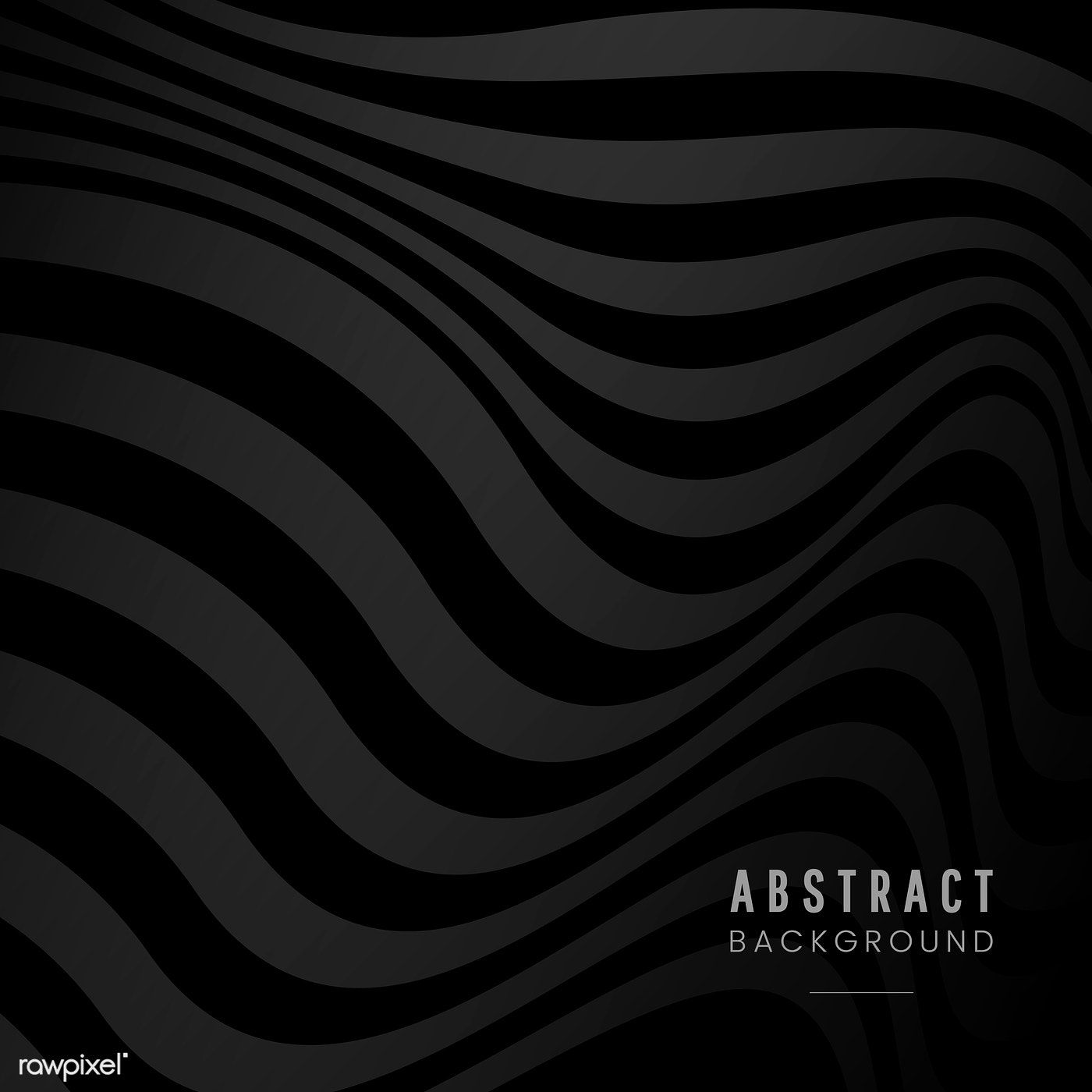 Black Abstract Background Design Vector Free Image By Rawpixel