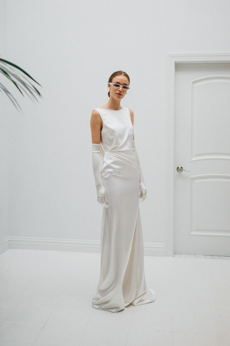 Fashionforward brides must see the latest livne white wedding