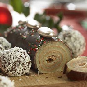 Lækker smagsprøve på tillægget Julebag og knas, der fås med Familie Journal i uge 49 - 32 sider med lækre julegodter