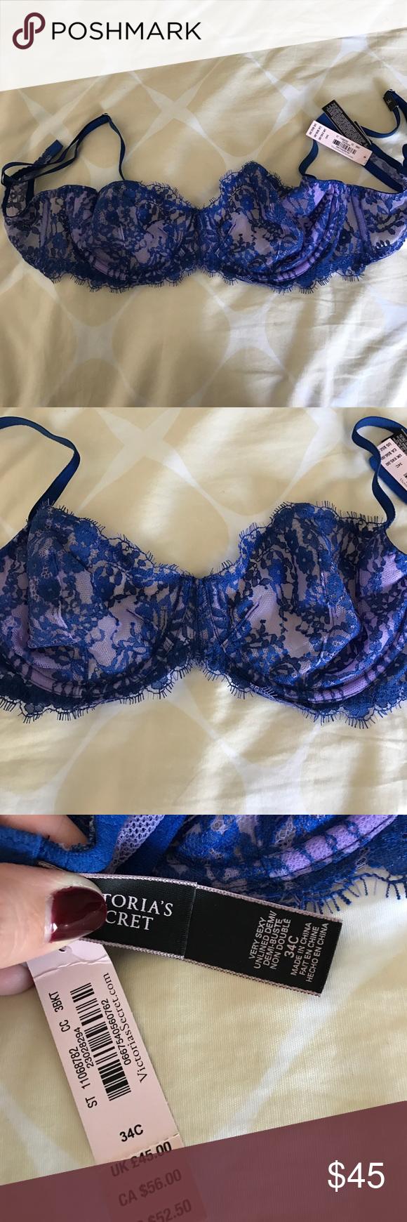 dc0bb2cb7edad NWT Victoria s Secret Very Sexy bra 34C
