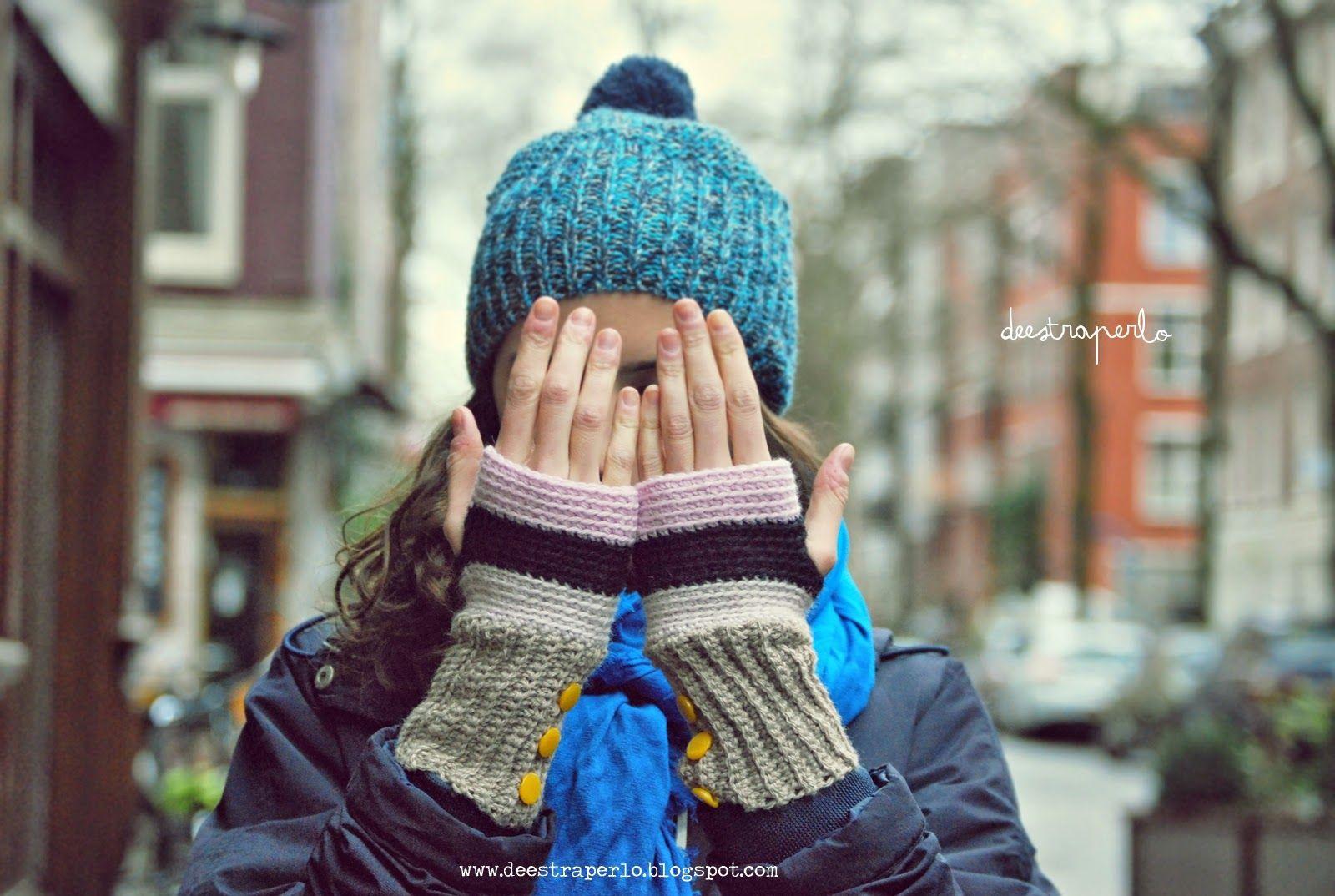 De Estraperlo: Back Loop fingerless gloves (en español) | proyectos ...