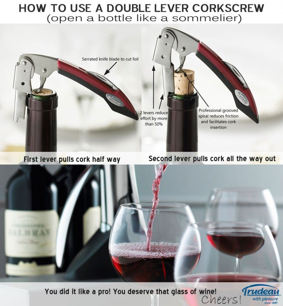 How To Get A Corkscrew Out Of A Wine Bottle