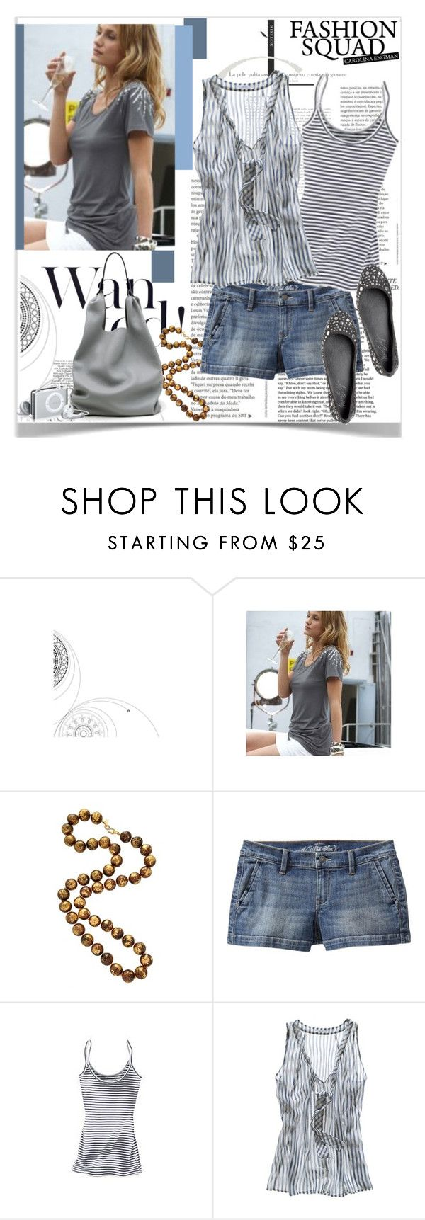"""""""mood for walk"""" by anukk ❤ liked on Polyvore featuring Sunichi, The Cambridge Satchel Company, Kenneth Jay Lane, Old Navy, Makena Lei, Madewell, Jil Sander, Miss Sixty, flatform shoes and boyfriend shorts"""