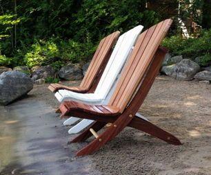 Sedie Adirondack ~ Adirondack beach chair w positions beach chairs woodworking