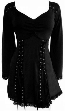 115bc2ac83f0cd Dare To Wear Gothic Victorian Vampy Corset Plus Top | My Style ...