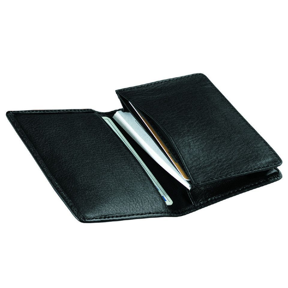 Personalized Deluxe Leather Business Card Case | Pinterest ...