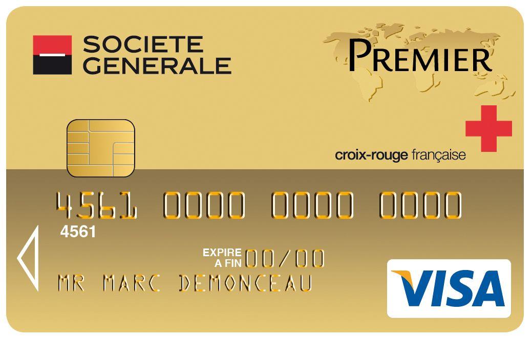 Carte Visa Premier Societe Generale Croix Rouge Francaise