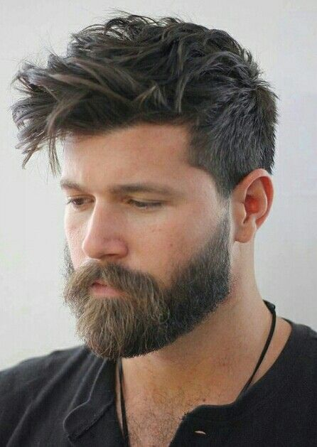 Hairstyles For Men With Beards Beards  Hair And Beauty  Pinterest  Haircuts Hair Style And Hair