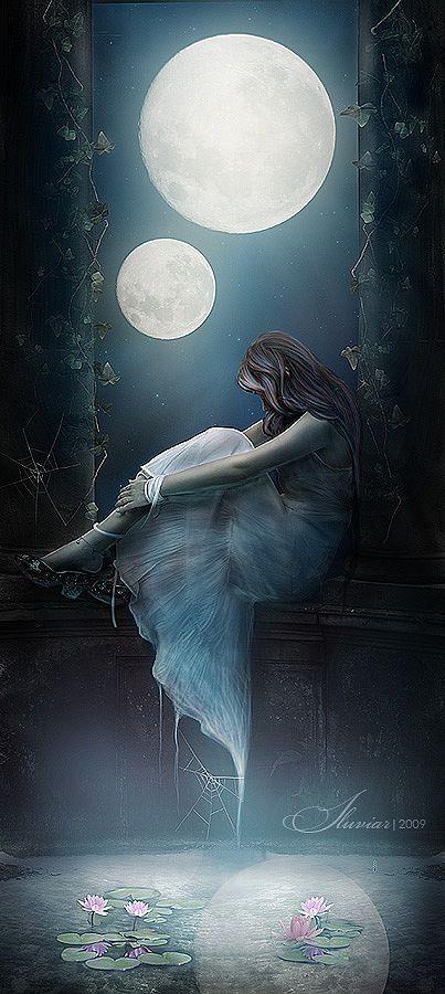 Pin By Gizem Conk On 감성이미지 Fantasy Art Moon Art Art
