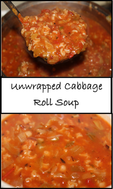Unwrapped Cabbage Roll Soup Nutrition Savvy Dietitian