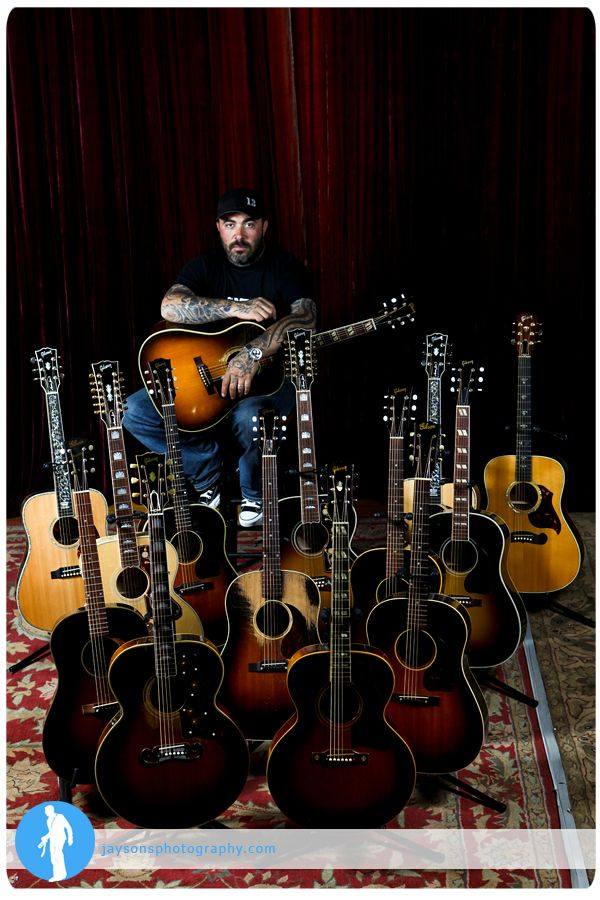 Aaron Lewis Gibson Photo Shoot Music Love Rock N Roll Music My Music