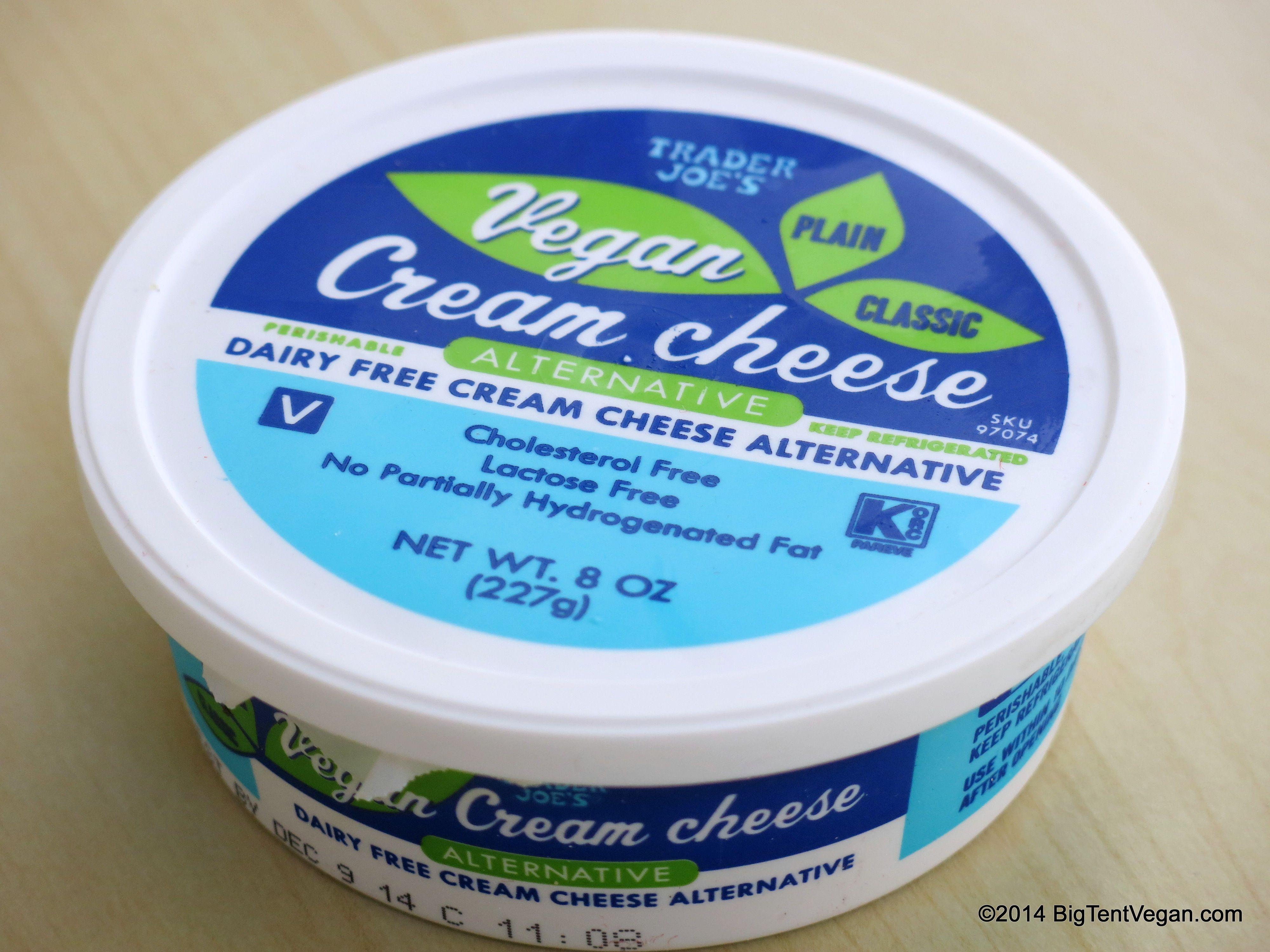 Vegan Cream Cheese Vegan Trader Joes Vegan Dairy Free Cream Cheese Cheese Alternatives