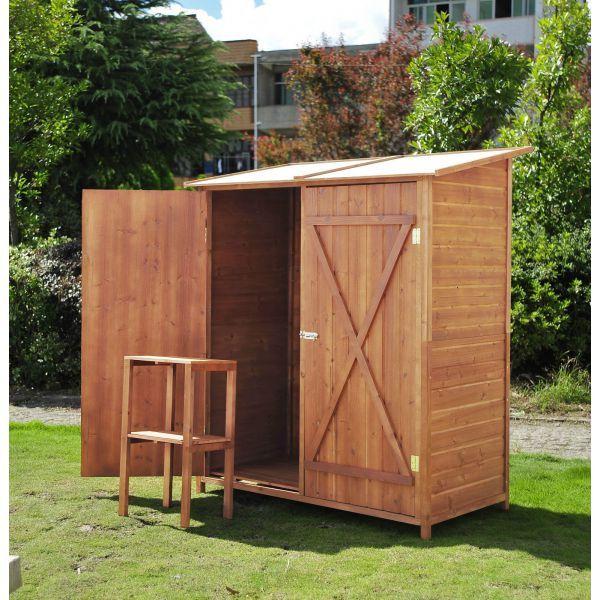 Outsunny® Gerätehaus Holz Gartenschuppen Geräteschuppen