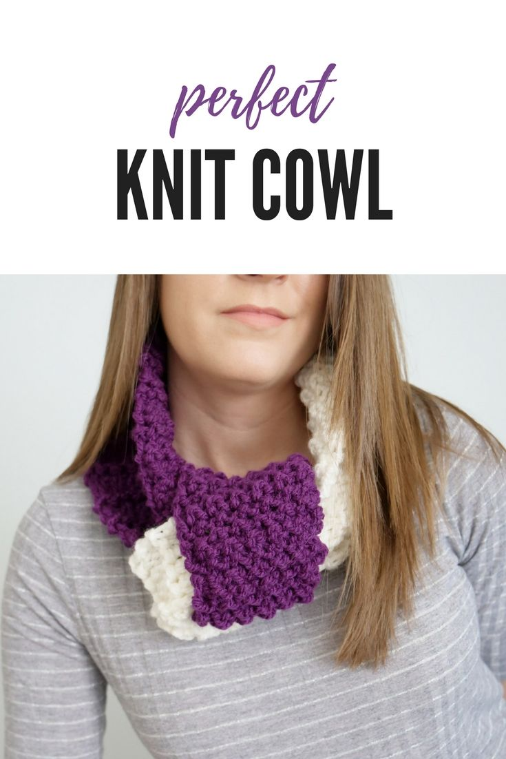 Photo of Knotted Knit Cowl Free Pattern & Tutorial from B.Hooked