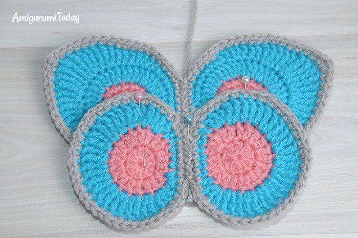 Alas de mariposa de ganchillo | Ganchillo | Pinterest