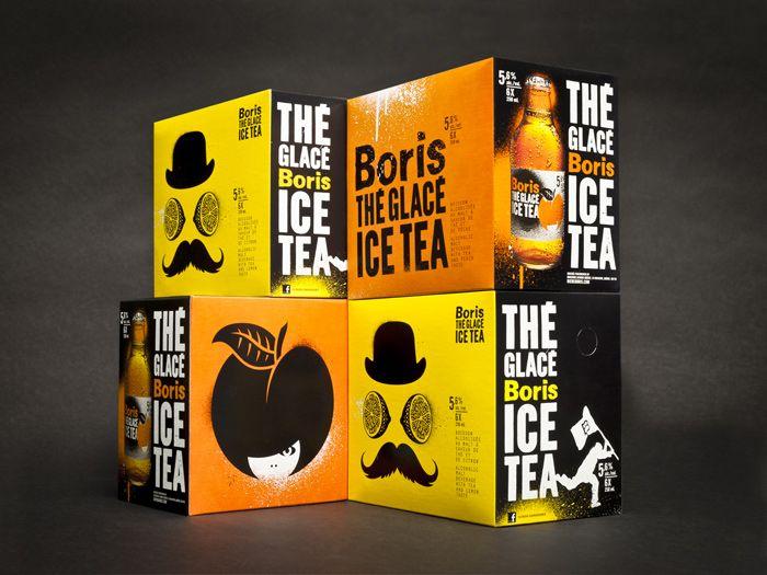 Boris Ice Tea designed bylg2boutique.