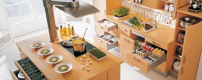 cocinas funcionales | Cocinas | Pinterest | Cocina funcional ...