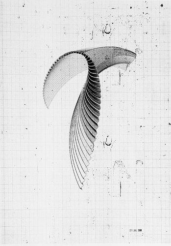 Richard Sweeney  Pleated wing