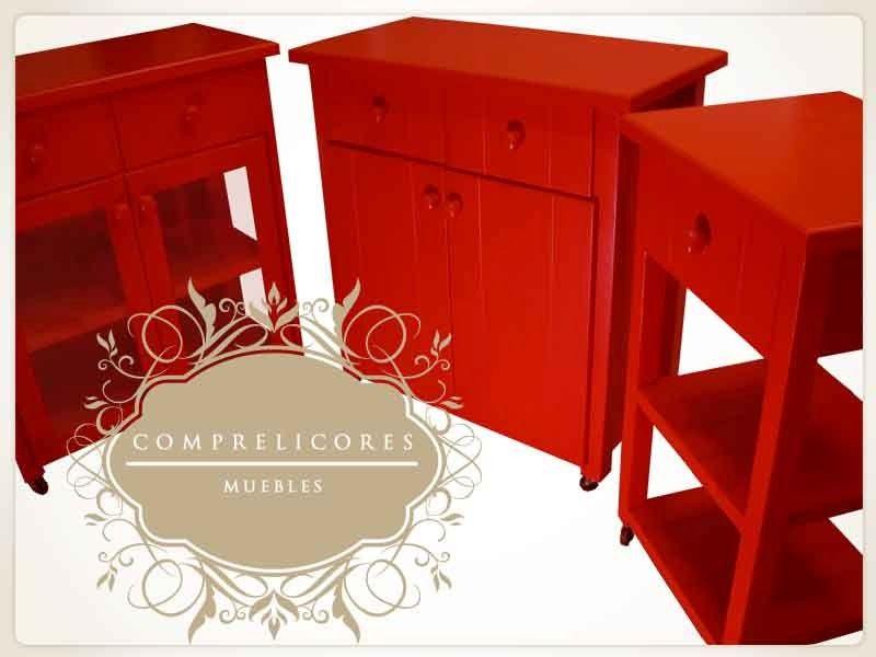 Alacena vajillero mesa auxiliar de cocina mueble de cocina for Mueble mesa cocina