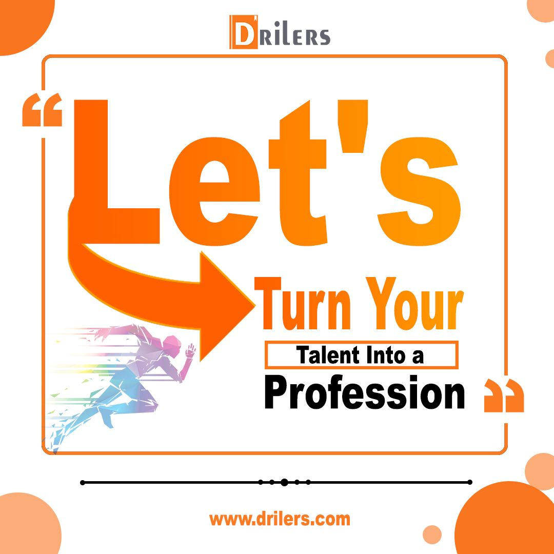 Vision and Mission Do you have any talent that can be your fulltime profession If yes then you have come to the right place We at Drilers are on a mission to showcase any...