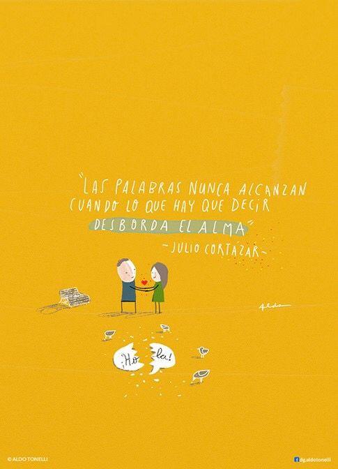 Las palabras no alcanzan, Julio Cortázar