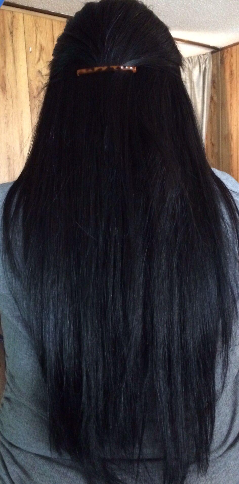 Pelo negro largo   Hair   Hair, Long hair styles, Hair heaven