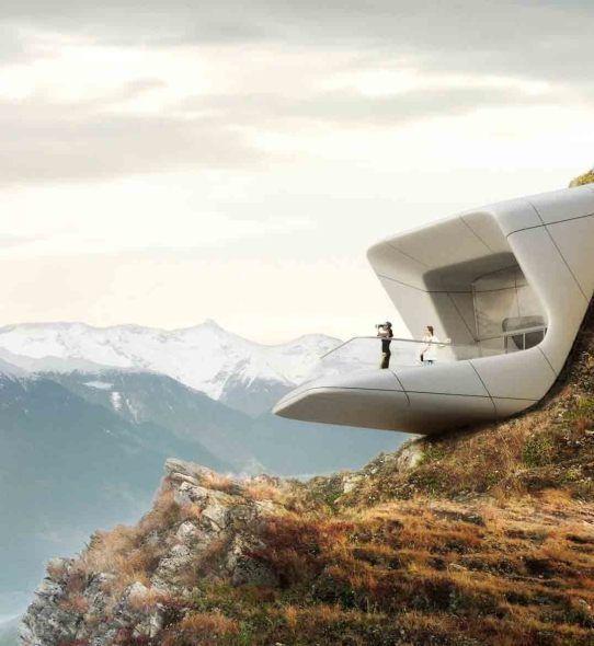 Zaha Hadid. Museo de la Montaña Messner