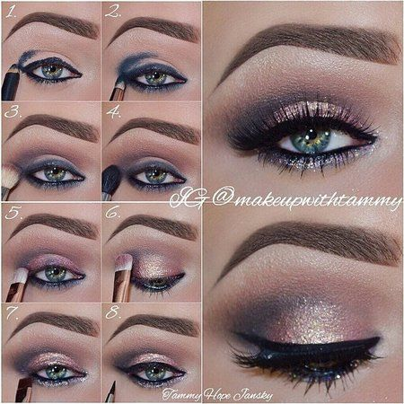 Pretty eye tutorial with #MakeupwithTammy Click to see all products used and more details on this beautiful tutorial