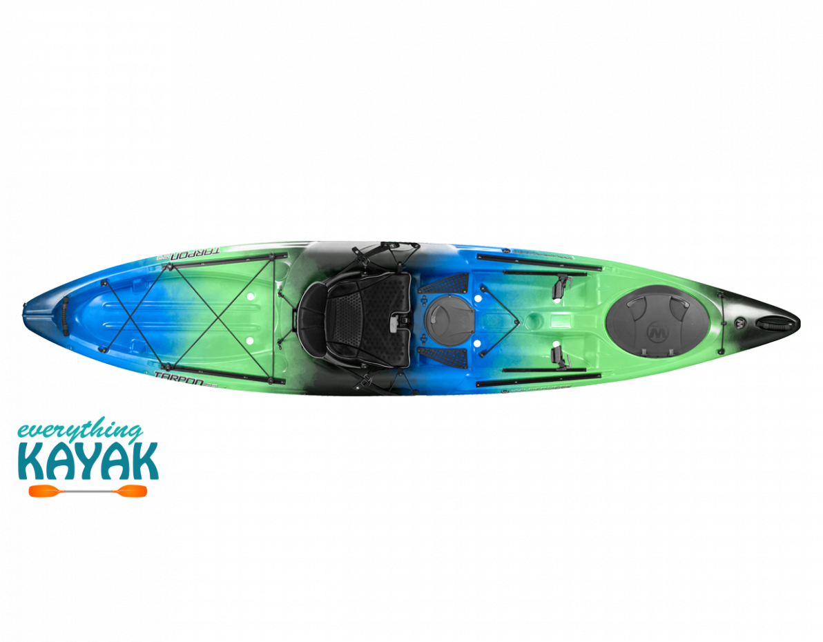 Tarpon 120 Galaxy Wilderness Systems Kayaking Sit On Kayak