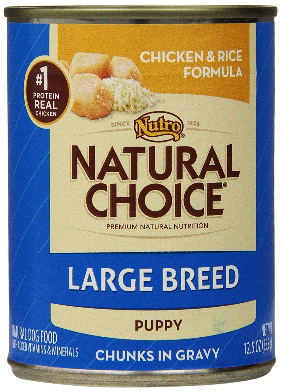 Nutro natural choice large breed canned dog food cant