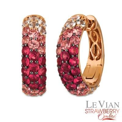 14k Strawberry Gold 174 Strawberry Ombr 233 174 3 1 5 Cts White