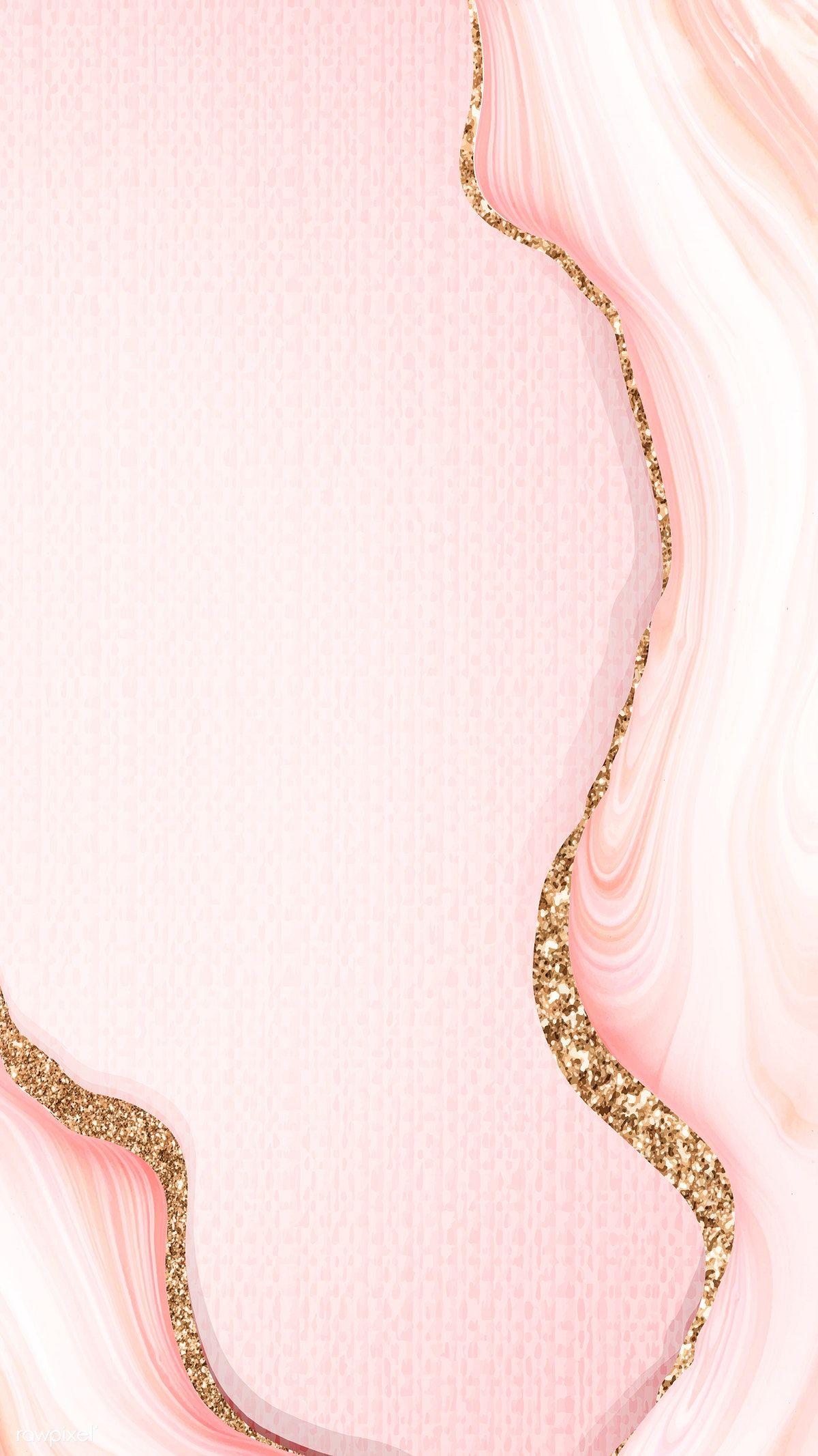 Download Premium Vector Of Pink Fluid Glitter Acrylic Paint Vector 681571 Glitter Wallpaper Paint Vector Pink Wallpaper Iphone