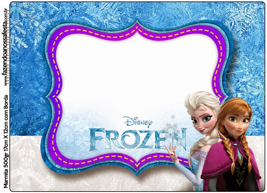 Frozen Nevando Etiquetas para Candy Bar para Imprimir Gratis Cumpleaños Tematica frozen