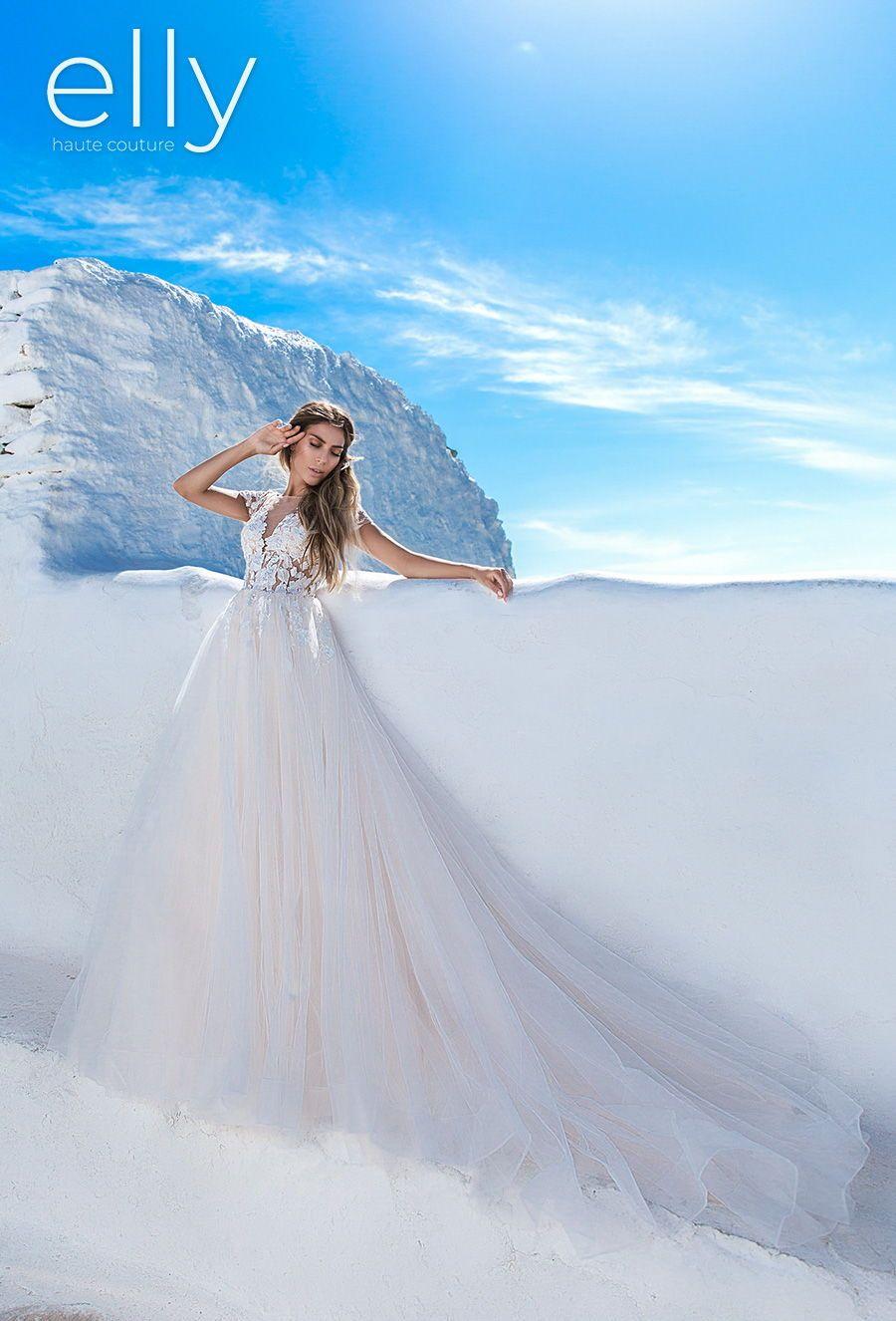 "Elly Wedding Dresses — ""Los Angeles"", ""NYC"" & ""Whi"