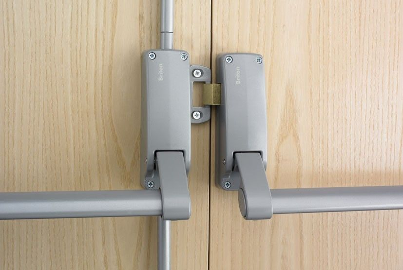 The Law Requires That Any Commercial Type Structured Business Will Have An Emergency Exit Door These Doors Are Usuall Locksmith Door Kits Commercial Locksmith