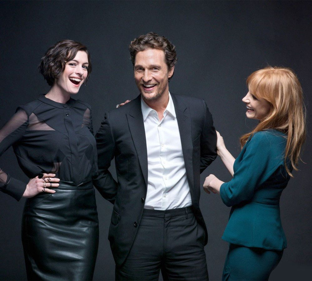 Anne Hathaway And Matthew Mcconaughey Movies: Interstellar Cast: Anne Hathaway, Matthew McConaughey
